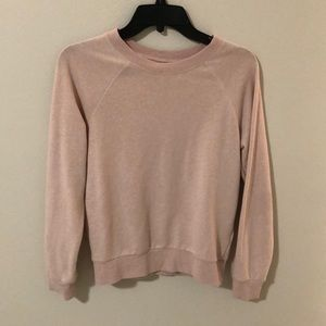 Millennial Pink crewneck sweatshirt
